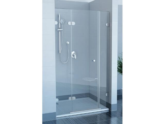 Drzwi prysznicowe GLASSLINE GSD3-110 L, szkło transparentne, wys. 200mm 09LD0A0KZ1 Ravak