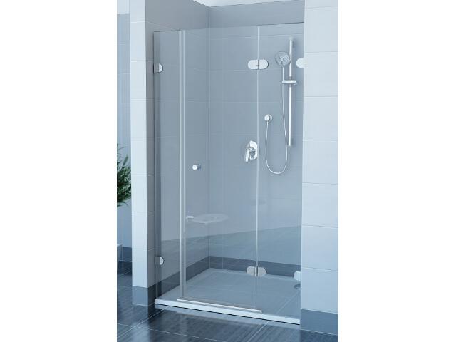 Drzwi prysznicowe GLASSLINE GSD3-110 P, szkło transparentne, wys. 200mm 09PD0A0KZ1 Ravak
