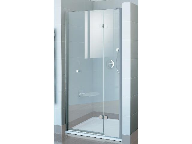 Drzwi prysznicowe FINELINE FSD2-90 B-P profil chrom, szkło transparentne 0RP7BA00Z1 Ravak