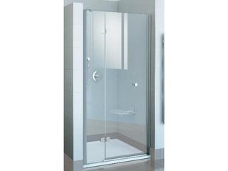 Drzwi prysznicowe FINELINE FSD2-100 A-L profil chrom, szkło transparentne 0RLAAA00Z1 Ravak