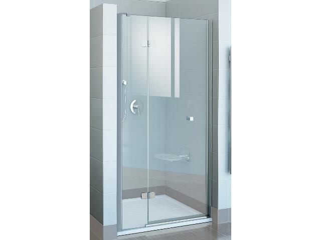 Drzwi prysznicowe FINELINE FSD2-120 B-L profil chrom, szkło transparentne 0RLGBA00Z1 Ravak