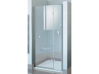 Drzwi prysznicowe FINELINE FSD2-120 B-P profil chrom, szkło transparentne 0RPGBA00Z1 Ravak