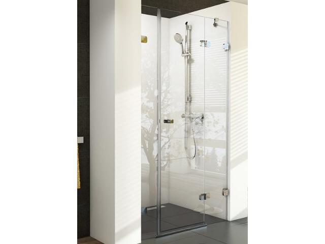 Drzwi prysznicowe BRILLIANT BSD3-110 P profil chrom, szkło transparentne 0UPD0A00Z1 Ravak