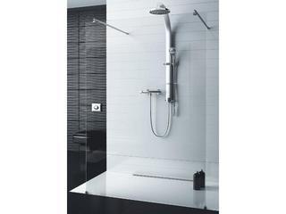 """Kabina prysznicowa otwarta """"walk -in"""" SOUL z dwoma stabilizatorami 103-010001 Aquaform"""