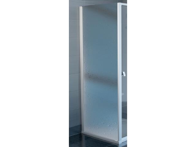 Ścianka prysznicowa boczna SUPERNOVA PSS-75 profil biały, polistyren pearl 9403010011 Ravak