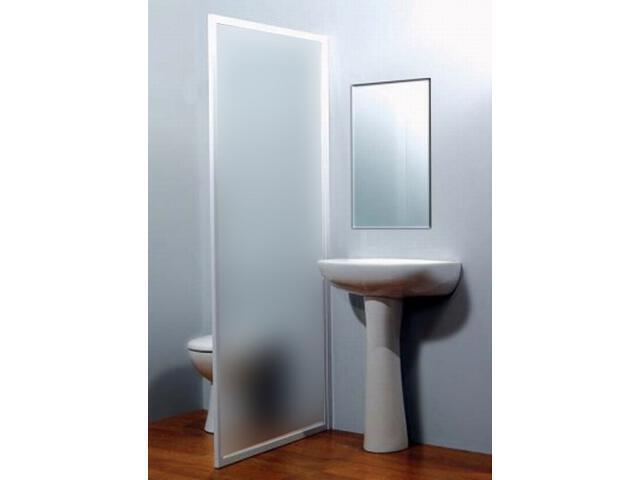 Ścianka prysznicowa boczna SUPERNOVA DSS-80 profil biały, polistyren pearl 9604010011 Ravak