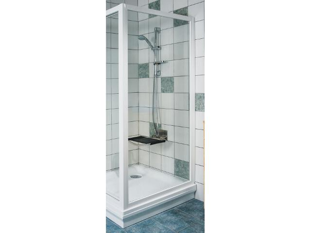 Ścianka prysznicowa boczna SUPERNOVA APSS-75 profil biały, szkło transparentne 94030102Z1 Ravak