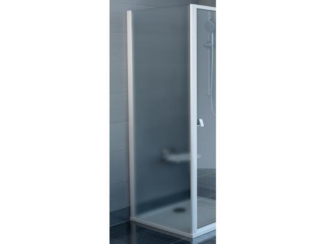 Ścianka prysznicowa boczna SUPERNOVA APSS-75 profil biały, szkło grape 94030102ZG Ravak