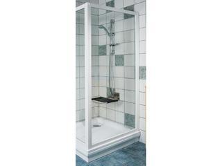 Ścianka prysznicowa boczna SUPERNOVA APSS-90 profil biały, szkło transparentne 94070102Z1 Ravak
