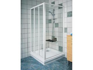 Ścianka prysznicowa boczna SUPERNOVA APSS-90 profil biały, szkło grape 94070102ZG Ravak