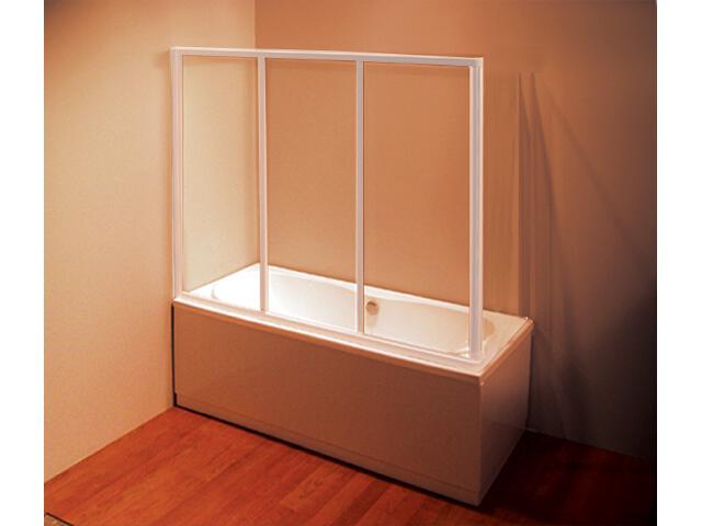 Ścianka prysznicowa boczna nawannowa SUPERNOVA APSV-80 szkło transparentne 95040102Z1 Ravak