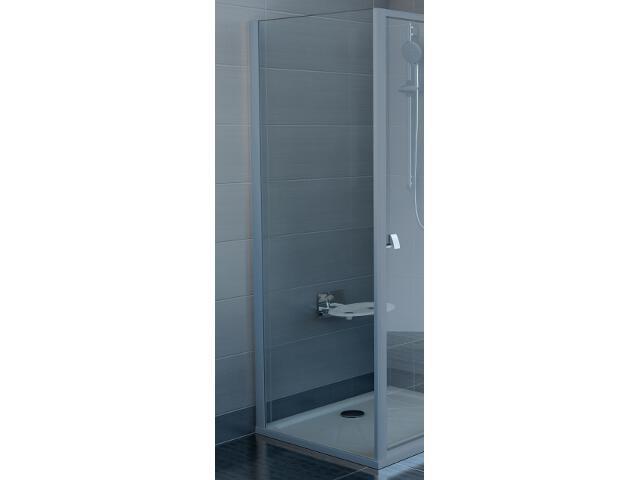 Ścianka prysznicowa boczna SUPERNOVA APSS-75 profil satyna, szkło transparentne 94030U02Z1 Ravak