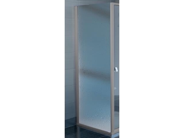 Ścianka prysznicowa boczna SUPERNOVA APSS-80 profil satyna, polistyren pearl 94040U0211 Ravak