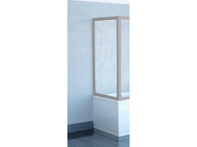 Ścianka prysznicowa boczna nawannowa SUPERNOVA APSV-80 polistyren rain 95040U0241 Ravak