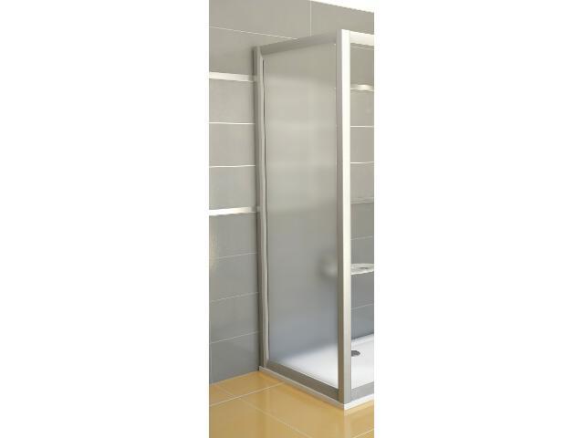 Ścianka prysznicowa boczna RAPIER RPS-80 profil satyna, szkło grape 9RV40U00ZG Ravak