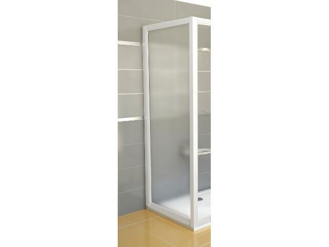Ścianka prysznicowa boczna RAPIER RPS-100 profil biały, szkło grape 9RVA0100ZG Ravak