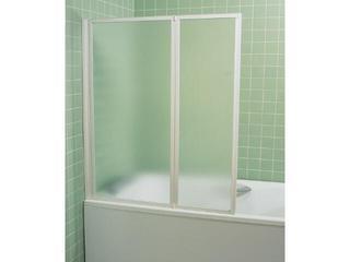 Parawan nawannowy SUPERNOVA VS2 105 profil biały, szkło grape 796M0100ZG Ravak