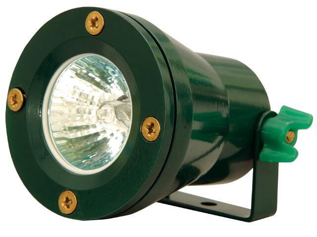 Lampa do oczek wodnych EMUR 10A max. 50W zielony Elgo