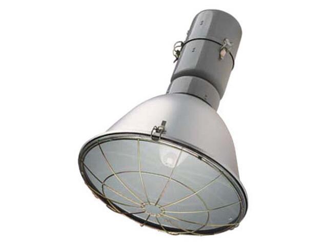 Oprawa do hal MITRA OPH-250 1x250W z siatką ochronną szara Elgo