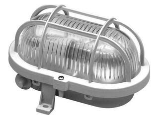 Plafon przemysłowy hermetyczny OVAL 60W E27 230V szary Lena Lighting