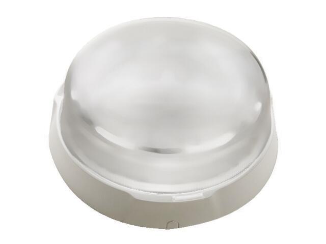Plafon przemysłowy hermetyczny POINT 1x100W E27 biały klosz matowy Lena Lighting
