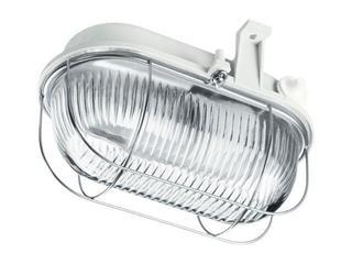 Plafon przemysłowy hermetyczny OVAL 60W E27 230V SIMETAL biały Lena Lighting