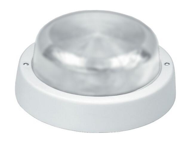 Plafon przemysłowy hermetyczny E27 1x60W biały klosz matowy Lena Lighting