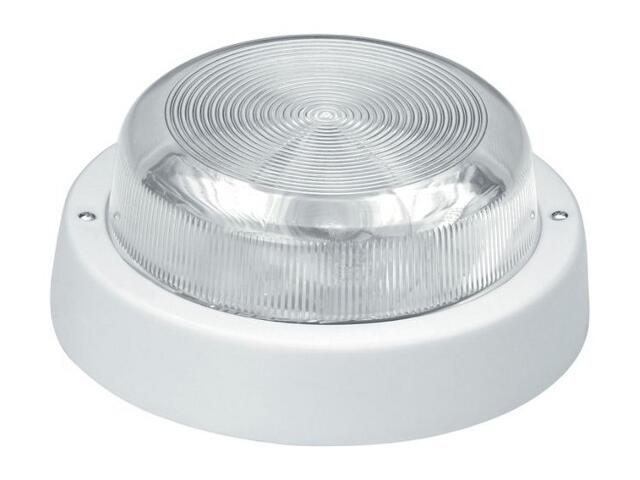 Plafon przemysłowy hermetyczny E27 1x60W biały Lena Lighting