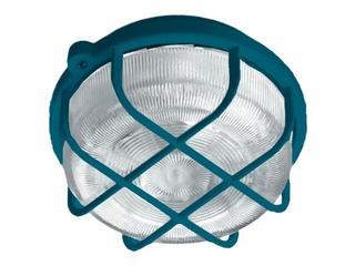 Plafon przemysłowy hermetyczny OKRĄGŁY 1x100W E27 niebieski Lena Lighting