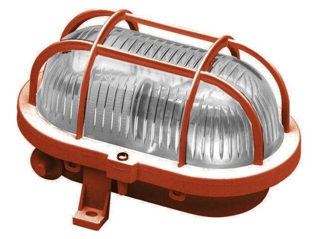 Plafon przemysłowy hermetyczny OVAL 60W E27 230V brązowy Lena Lighting