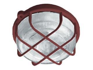Plafon przemysłowy hermetyczny OKRĄGŁY 1x100W E27 brązowy Lena Lighting