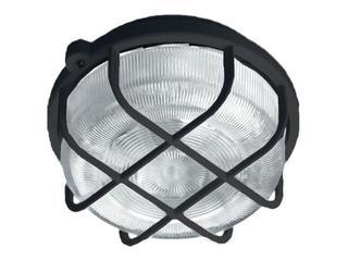 Plafon przemysłowy hermetyczny OKRĄGŁY 1x100W E27 czarny Lena Lighting