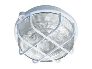 Plafon przemysłowy hermetyczny OKRĄGŁY 1x100W E27 srebrny Lena Lighting
