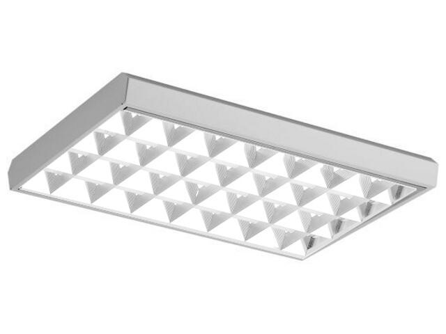 Oprawa rastrowa KASTOR 4x18W VLB nadtynkowa z kompensacją Lena Lighting