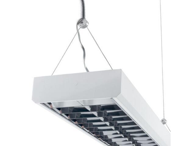 Oprawa rastrowa LIRA hang ORZ-236 2x36W z kompensacją biała Elgo