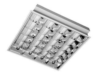 Oprawa rastrowa RASTRA 104PRMKX do wbudowania 4x18W biała Elgo