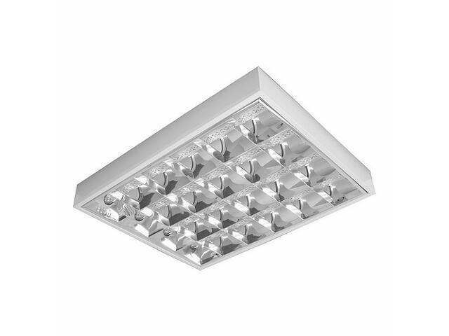 Oprawa rastrowa RASTRA LED 204PP P4x8W DB biała Elgo