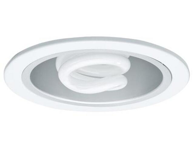 Oprawa downlight Quality ESL max. 25W 230V E27 fi 130mm biała Paulmann