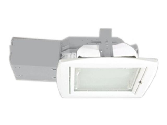 Oprawa downlight z odbłyśnikiem QUAD 26D biała Brilum
