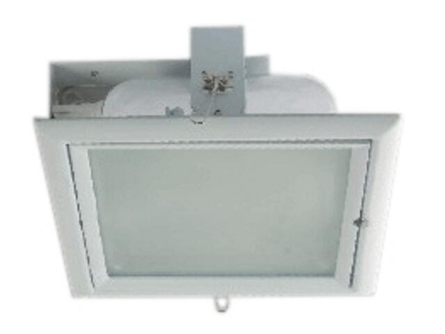 Oprawa downlight z odbłyśnikiem QUAD E biała Brilum
