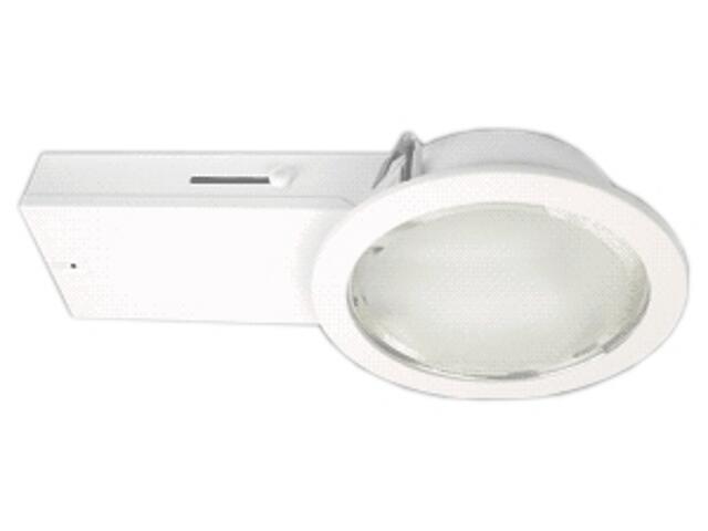 Oprawa downlight MEZZI 218E biała Brilum