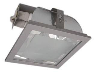 Oprawa downlight ENZO 200 2xE27 srebrna Brilum