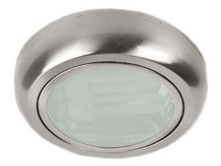 Oprawa downlight nabudowywana z odbłyśnikiem ERMA 200 satynowy chrom Brilum
