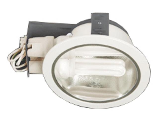 Oprawa downlight z odbłyśnikiem H-8000G biała Brilum
