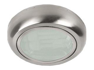 Oprawa downlight nabudowywana z odbłyśnikiem ERMA 100 satynowy chrom Brilum