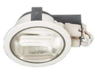 Oprawa downlight z odbłyśnikiem H-6000 biała Brilum