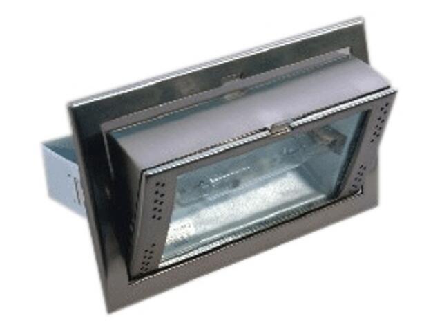 Oprawa downlight metahalogenkowa 8100 150W satynowy chrom Brilum
