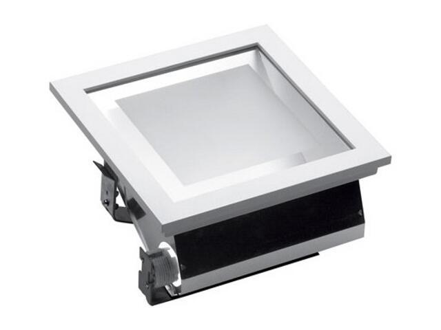 Oprawa downlight DLK 270 2x26W SYM IP20 EVG szara Lena Lighting