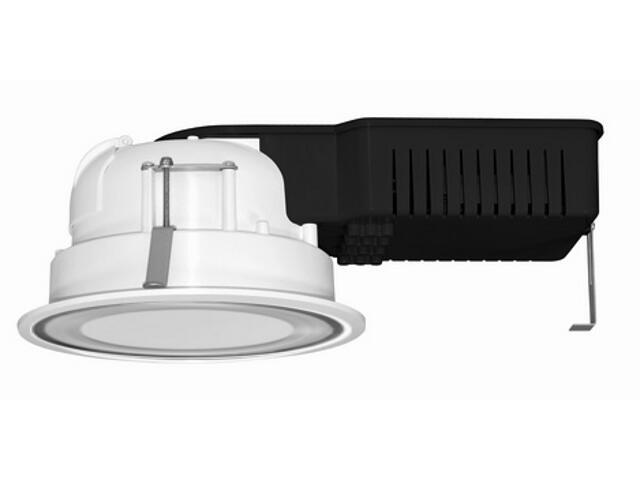 Oprawa downlight SIMEN 7218M 2x18W odbłyśnik rozpraszający biała Elgo