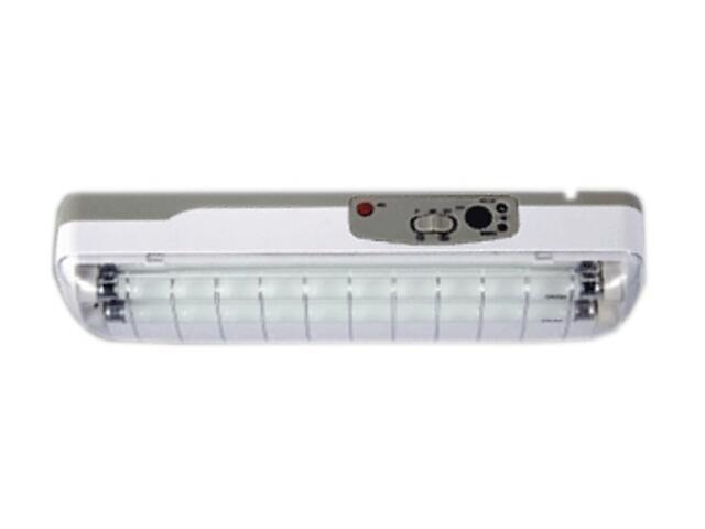 Belka świetlówkowa ERGO 208 biała Brilum